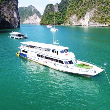 phuket to phang nga by big boat tour