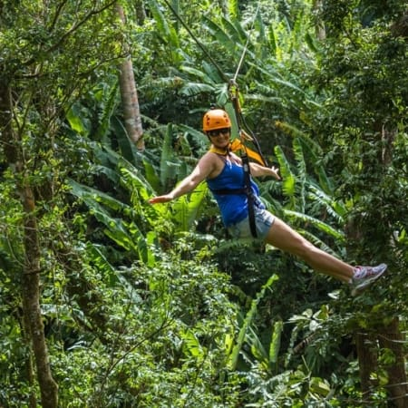 phuket excursion jungle xtreme zipline